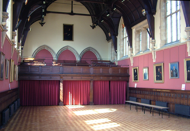 Hall from stage